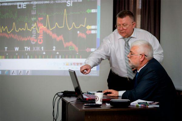 Брюс Уайт та Олег Рибальченко. 2016 р.